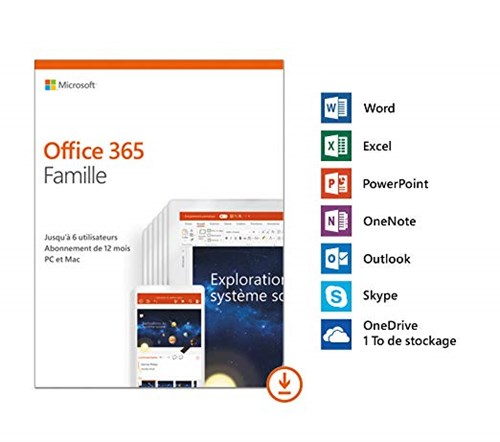 Office 365 Home Français - Abonnement